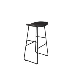 stołek barowy Tangle, 65 cm czarny, LuDesign
