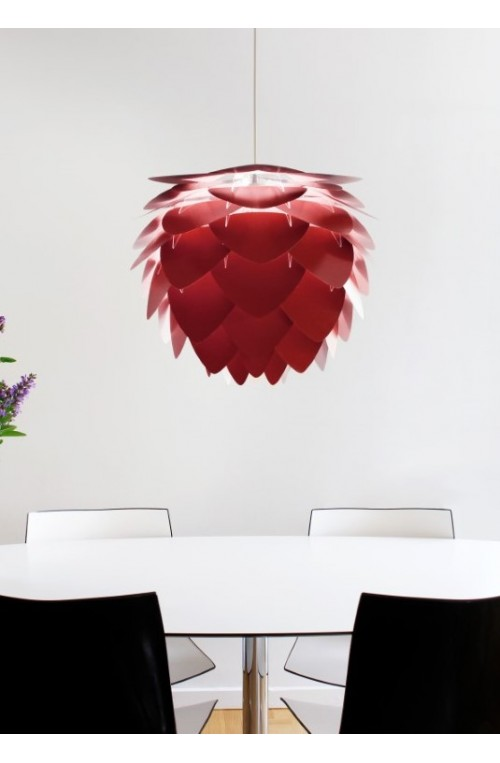Lampa / abażur Aluvia medium, ruby red, UMAGE