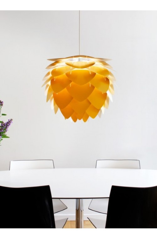 Lampa / abażur Aluvia medium, saffron yellow, UMAGE