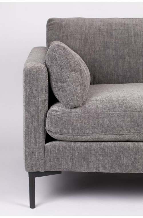 3-osobowa sofa Summer antracyt, Zuiver