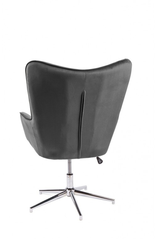 Fotel obrotowy Lounger 100-110 cm, szary, Interior Space